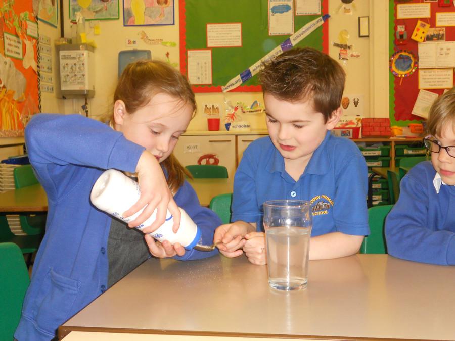 During Science week we focused on 'Humpty Dumpty'