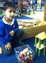 We made our own beanstalk out of construction.