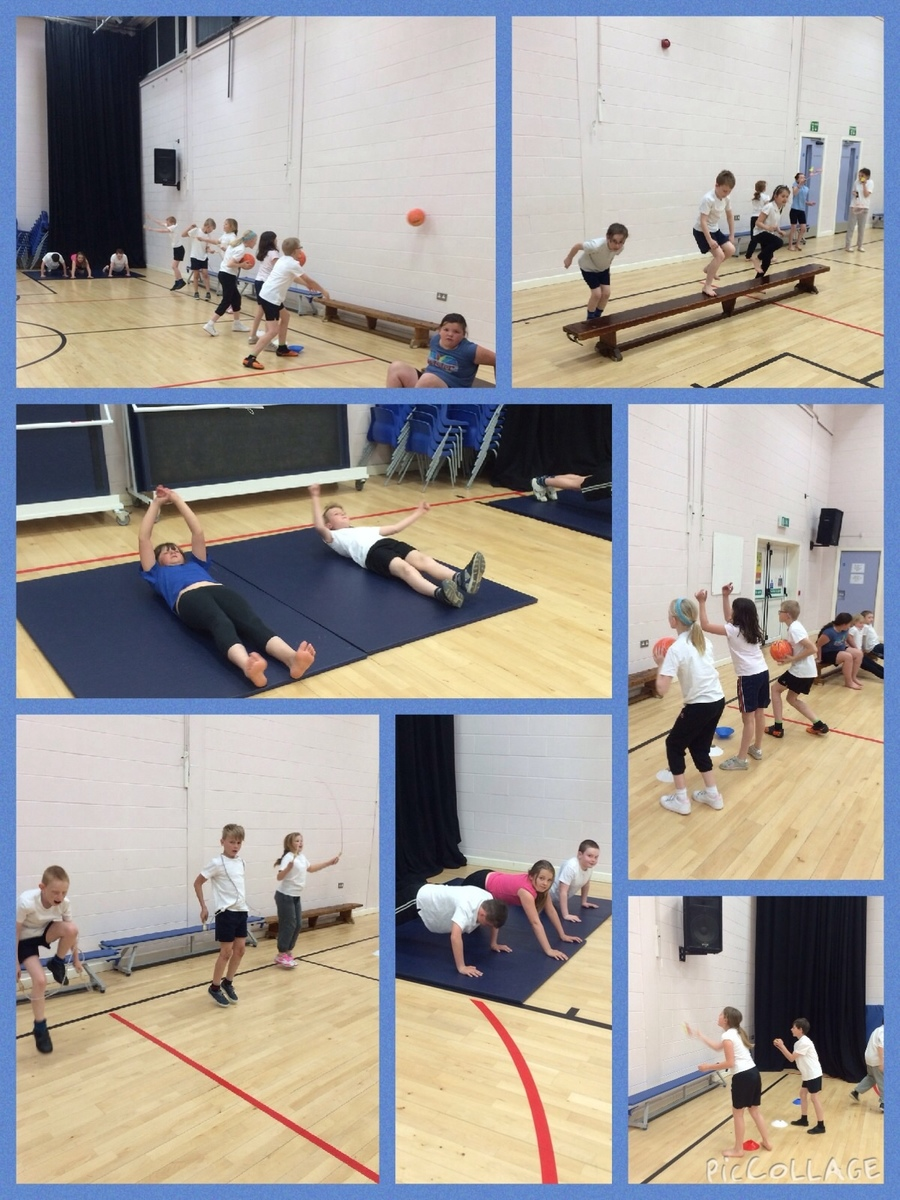 Last Monday Class 7 completed a circuit in PE in order to raise money for the NSPCC. They all worked so hard and we also won the best class participation award in KS2 for raising the most amount of money. Well done team Class 7.