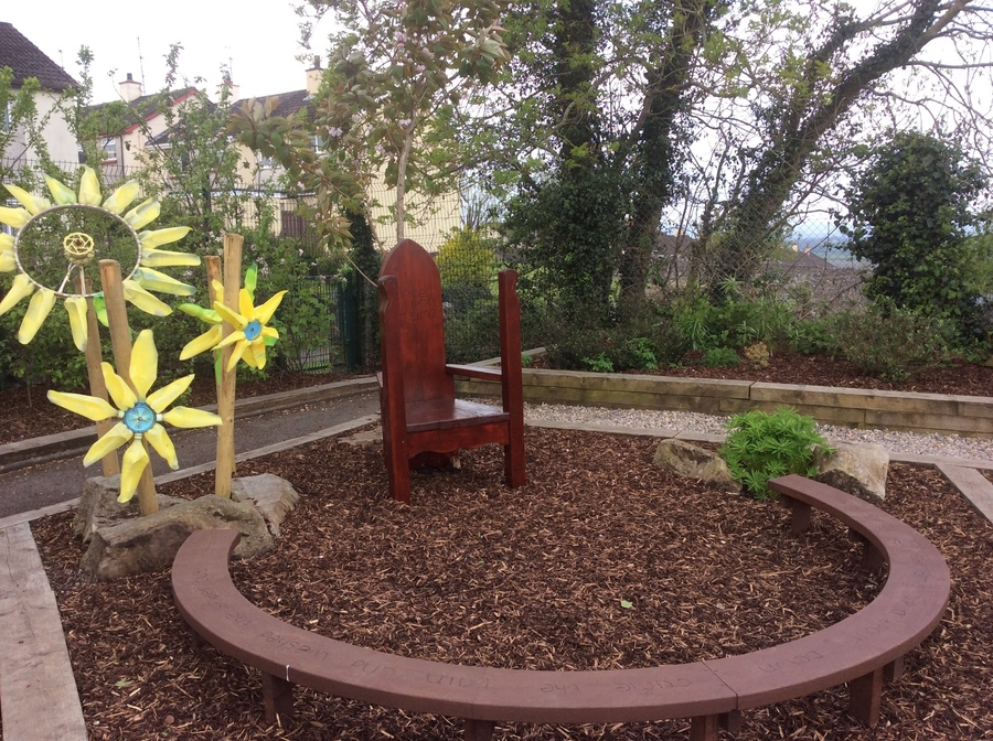 Our Beautiful Garden and Play Area