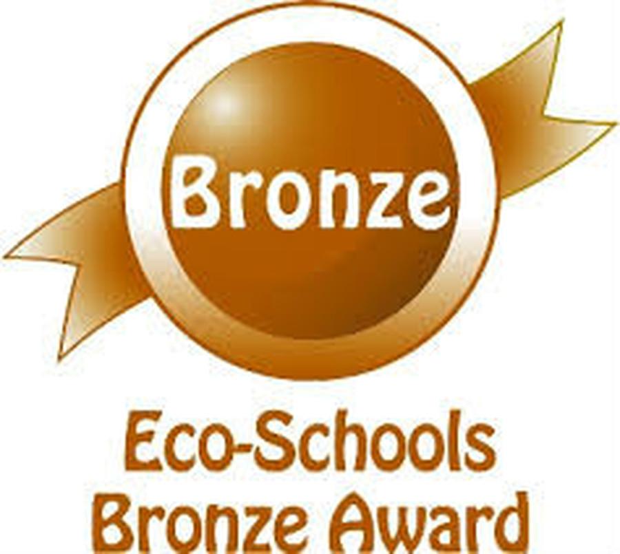 May 2015 : Eco-Schools Bronze Award