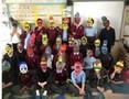 Yr 5 Mayan masks.JPG