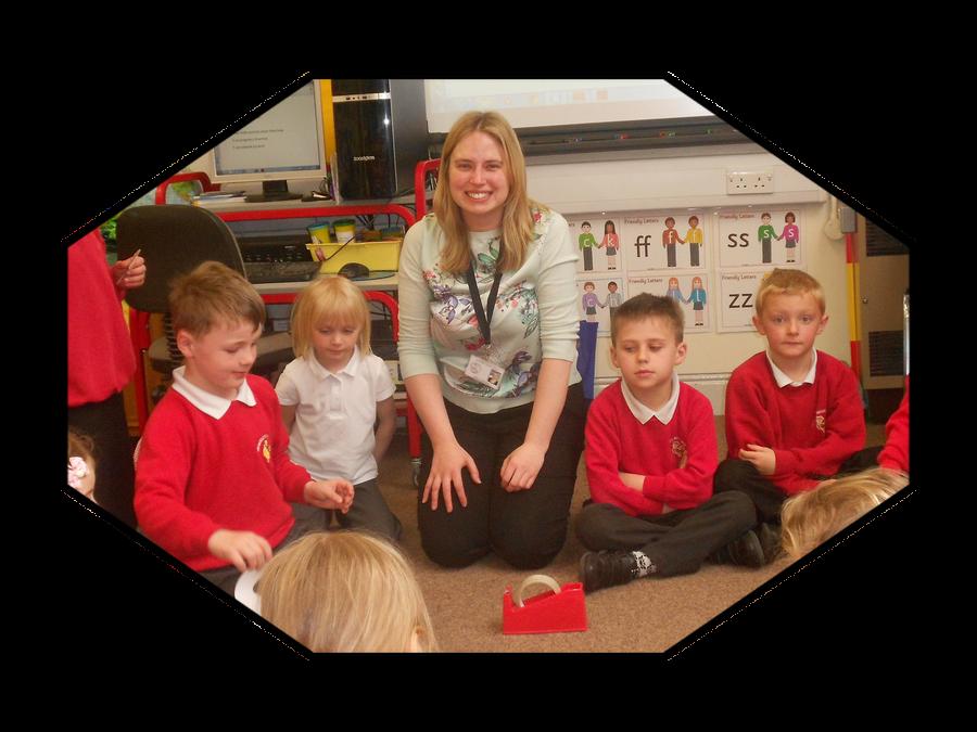 Miss Harrison, Teacher