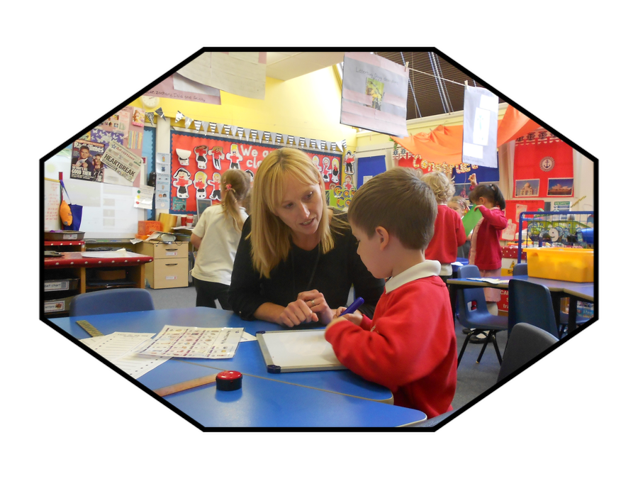 Mrs Moran, Teaching Assistant in Reception and HLTA
