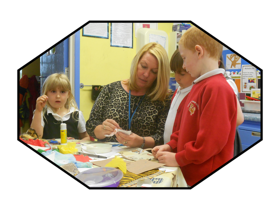 Mrs Holt, Teaching Assistant in Reception
