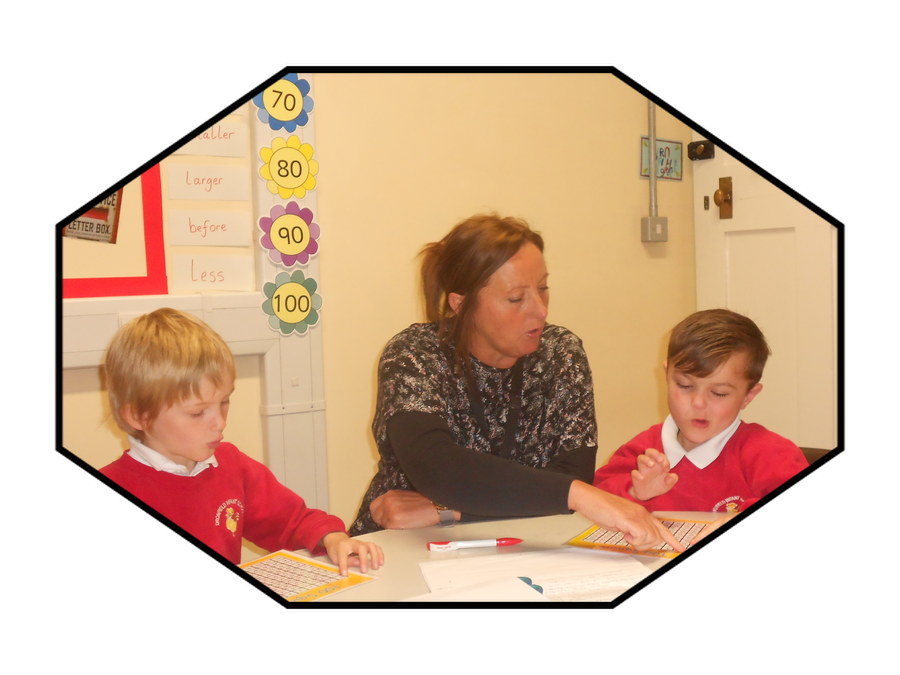 Mrs Bancroft, Teaching Assistant in Year One and 1st Class@Number Practitioner