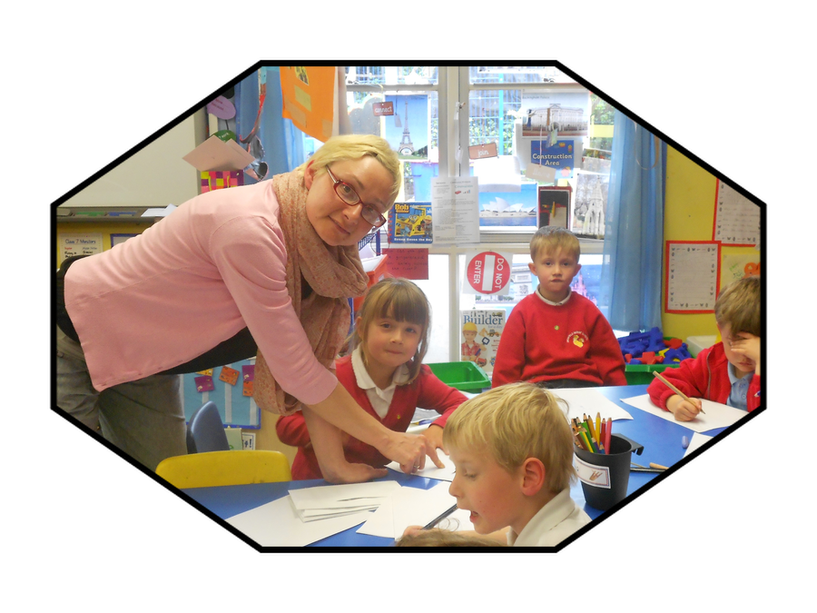 Miss Hudson, Teaching Assistant in Year Two and HLTA