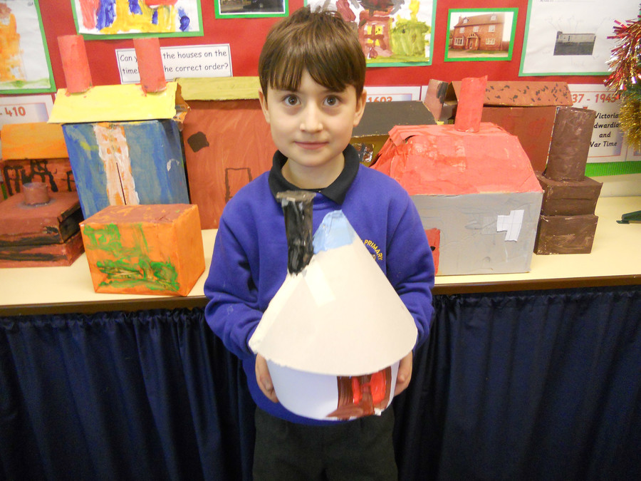 Creating our own 'Homes through the ages' in Design and Technology