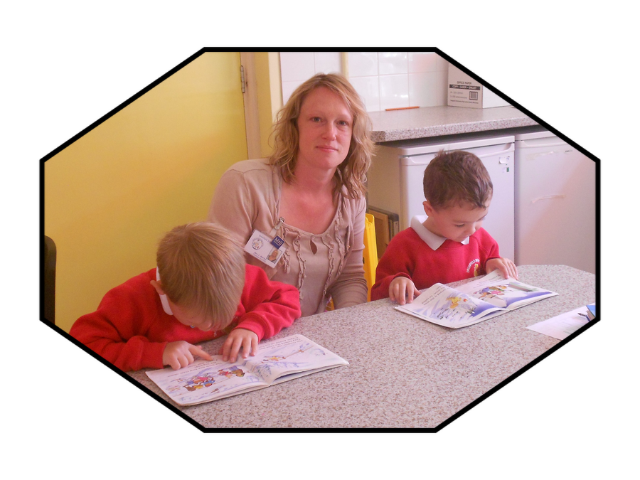 Mrs Morton, Teaching Assistant in Year 1 and HLTA