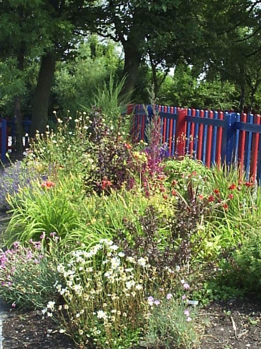 One of many   Flowerbeds