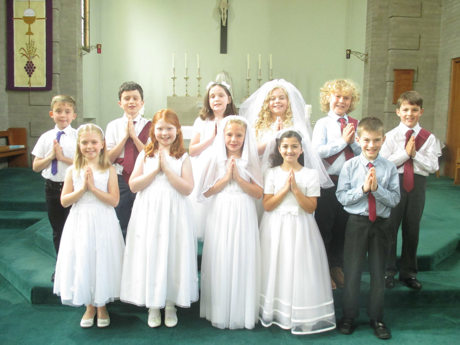 Our First Holy Communicants