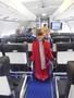 Dressing up as a stewardess.JPG