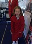 Our air hostess for the flight.JPG