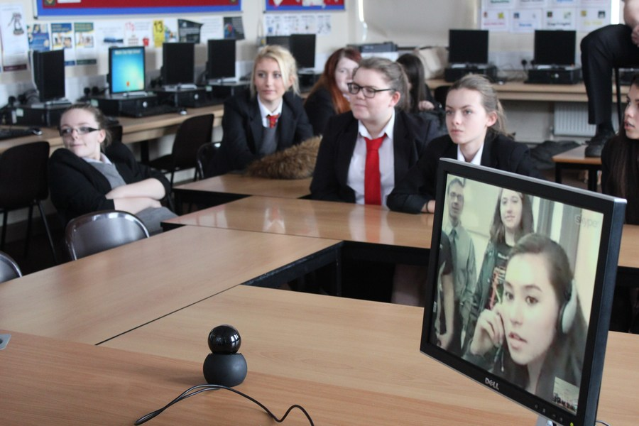 Video Conference with International School (USA)