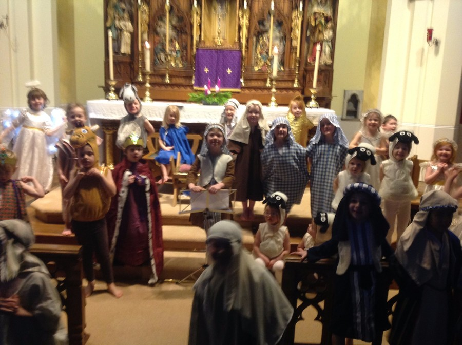 Our School Nativity took place at church on 12th December 2013.  It was a wonderful occasion for our whole parish community.
