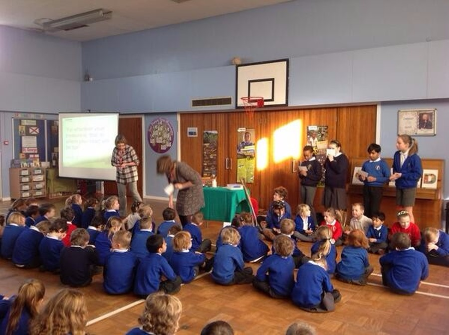 Cath Pearson and Sandra White came to tell us all about the work of CAFOD in the run up to Lent.  We all thought of a Lenten promise that we could make which would help other people.  We will be collecting money for CAFOD throughout Lent in school.