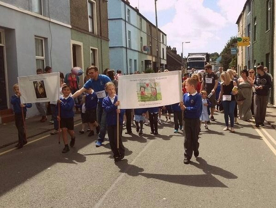 We loved having the opportunity to share the fantastic features of our school with the local community by taking part in the annual Ulverston Carnival on 5th July 2014.  It was so much fun!