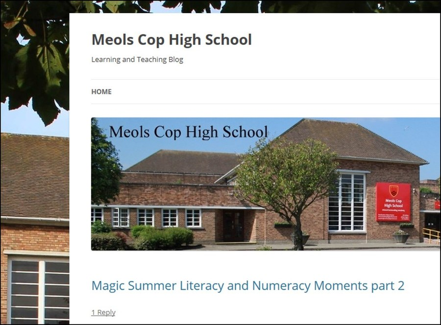 Visit Mr Jones' Learning and Teaching Blog