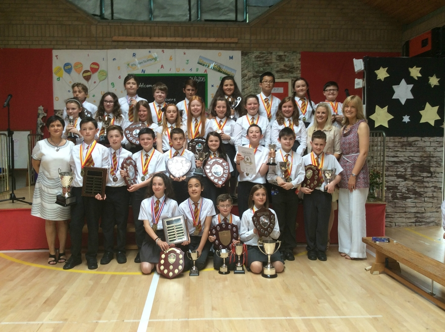 Our P7 Award Winners