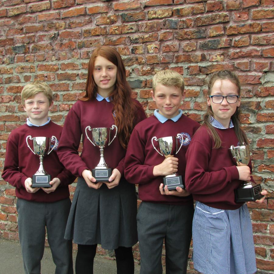 KS2 Sports Day Winners