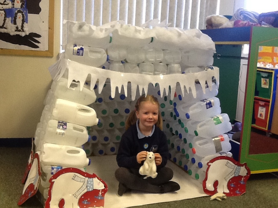 P1 make an igloo