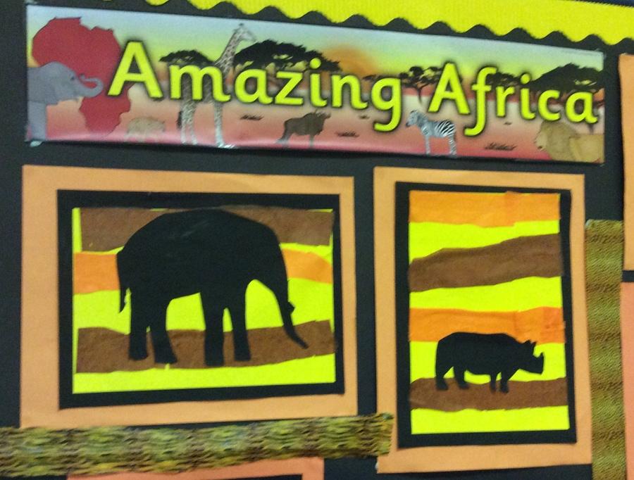 P3/4 Africa Topic