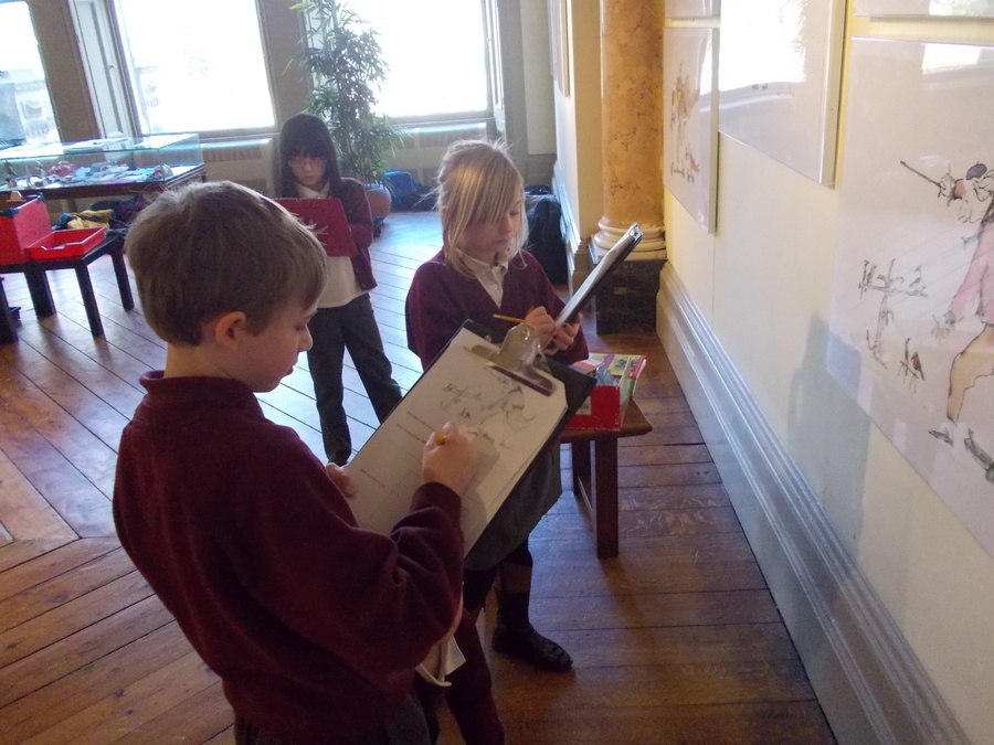 Class 3's visit to Bankfield Museum
