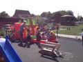 Enjoying a bouncy ship