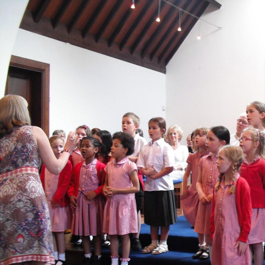 Sherwood Arts Week - Choir at The United Reformed Church 2015