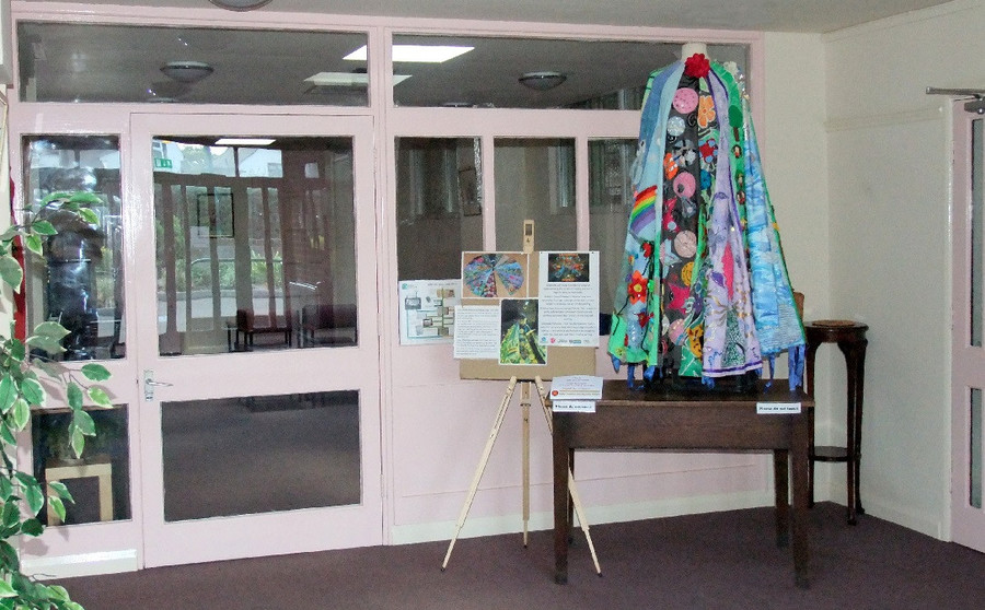 Storyteller cloak at United Reformed Church 2015