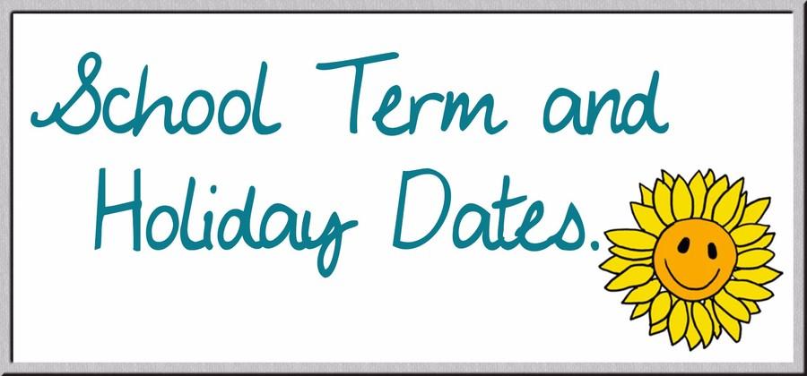 School Term & Holiday Dates