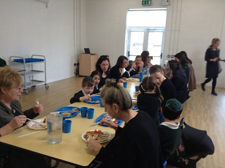 Reception Parent Lunch 2015