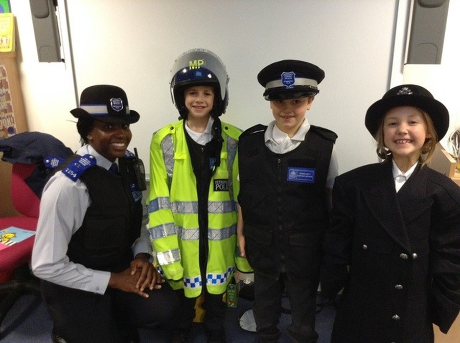 Police Community Officer Visit 2014