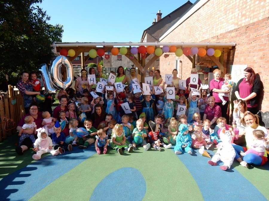 Celebrating our 10th birthday 1st August 2015