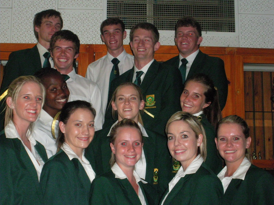 Current and Former students in the Protea Squad