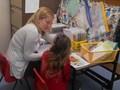 Quiet reading with Miss Reid<br>