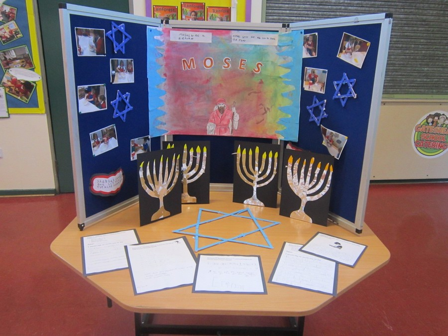 Pine class learned about Judaism. To find out more visit their class page.