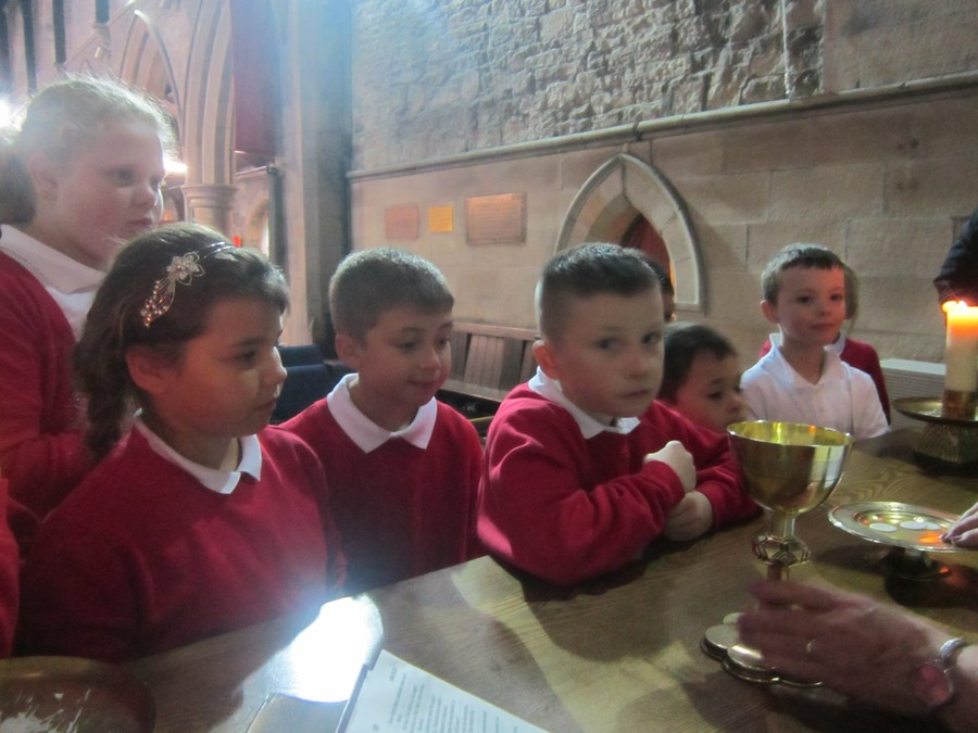 Maple class learned about Christianity and visited Christ Church in Felling. Visit their class page for more information