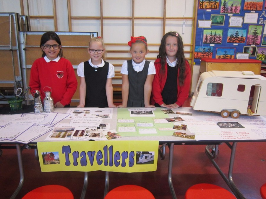 Our school has a great relationship with the traveller community and Willow class found out more about how travellers live. To find out more visit the Willow class page