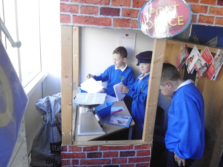 Our Post Office Role Play Area