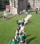Class 6 entering The Keep