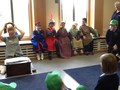 Class 5 dressing up as characters from the histroy of Conisbrough Castle