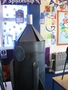 Class 2's spaceship role-play area.<br>