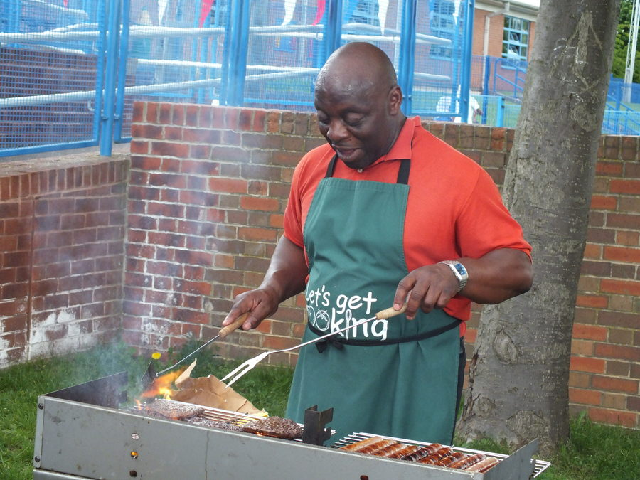 Jasper's BBQs are famous on special occasions!
