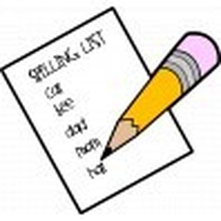 Class 3 Spellings Practise Sheet