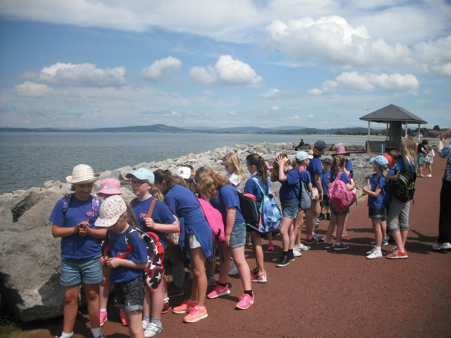 A lovely day for a field trip to Morecambe