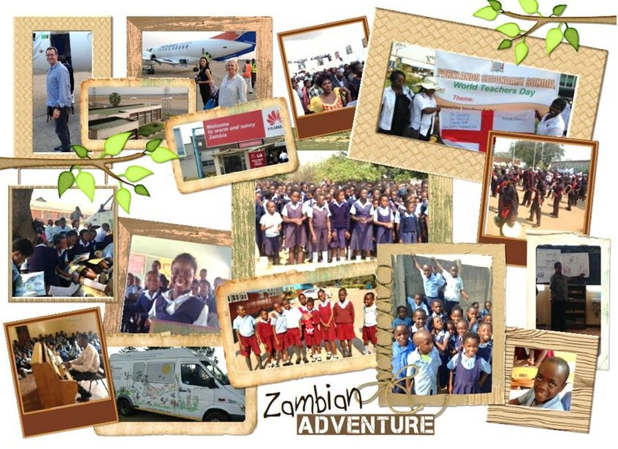 Lane End Primary School - Mr Twigg's Visit to Zambia