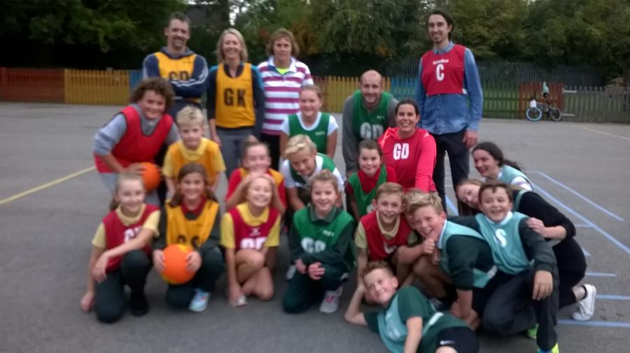 Family Netball 15.10.15