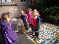 Different ways to measure the playground.