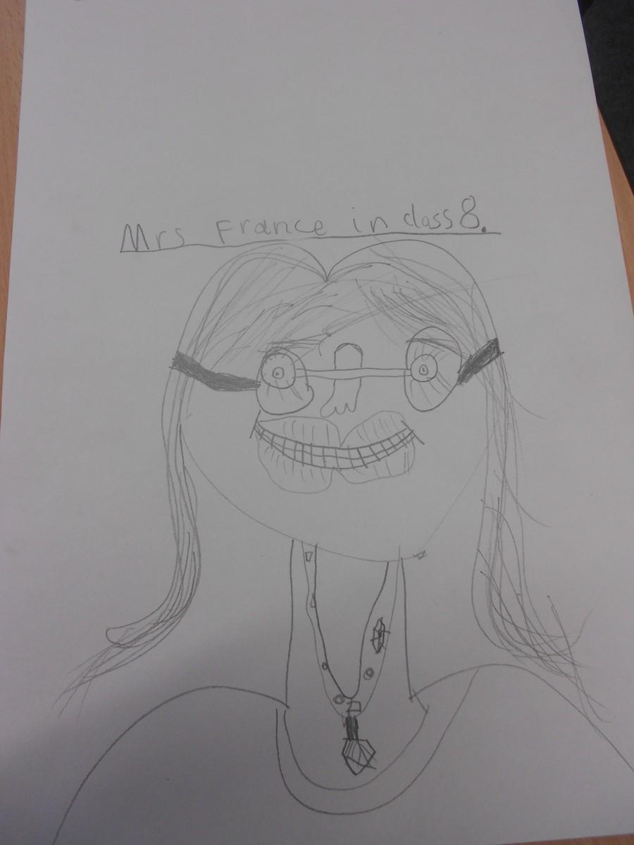 Mrs. France - Class 7 teacher